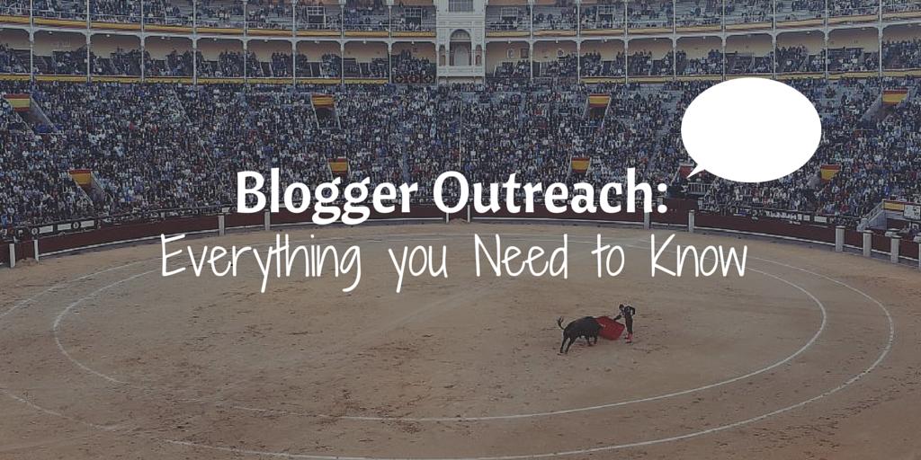 Blogger Outreach - Header Image