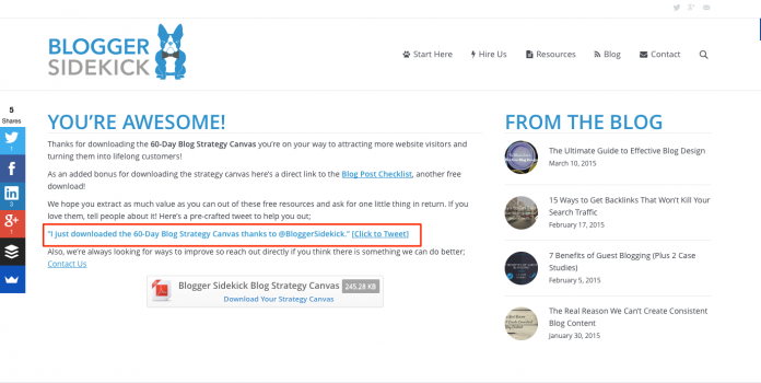 Blogger Sidekick   List Building - Get More Email