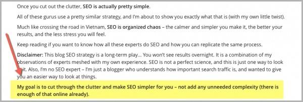 Blogger Sidekick blog introduction example