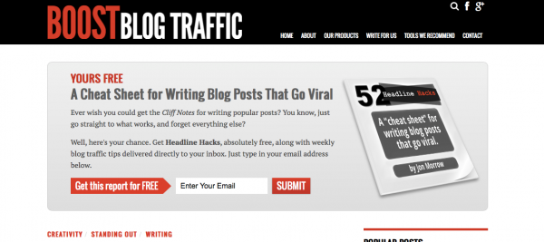 Headline hack to get more traffic to your blog