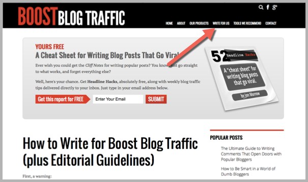 Write for us - how to guest blog BBT