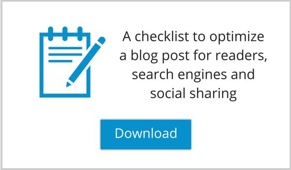 Blog Post Checklist Lead Magnet Image