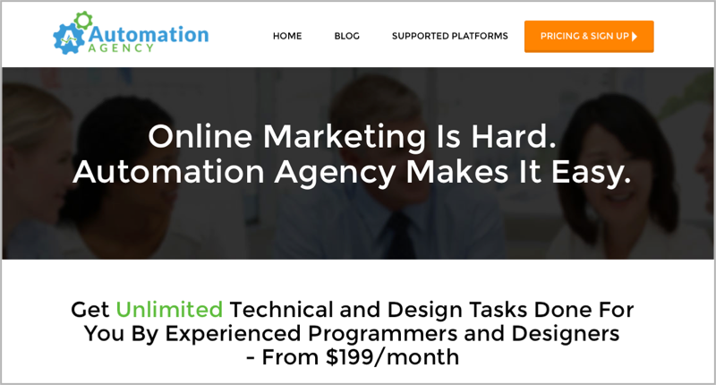 Automation Agency for blog outsourcing management