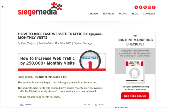 Sieg media anchor content for how to get backlinks