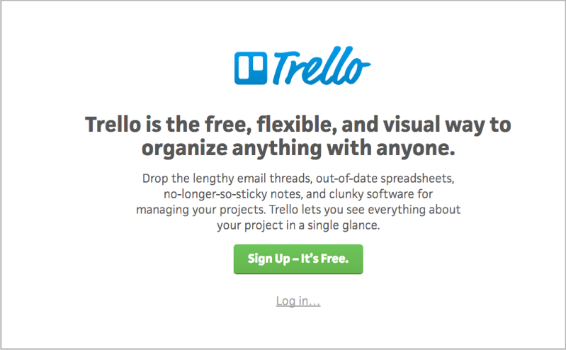Trello for for blog outsourcing management