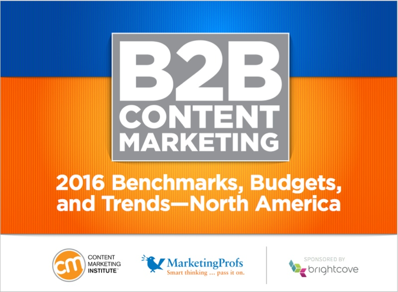 Content marketing industry report for lead magnet ideas
