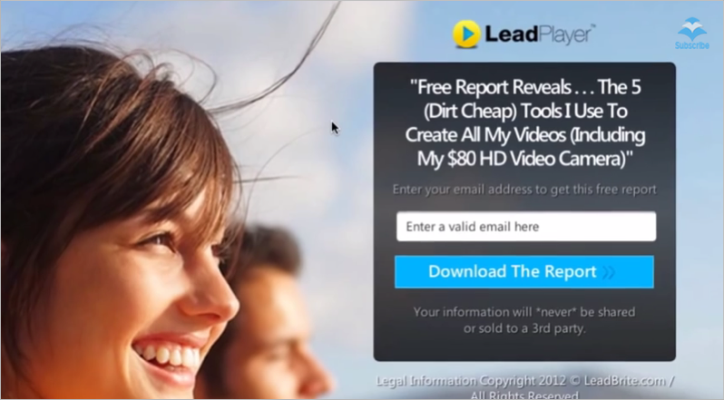 LeadPages lead magnet idea