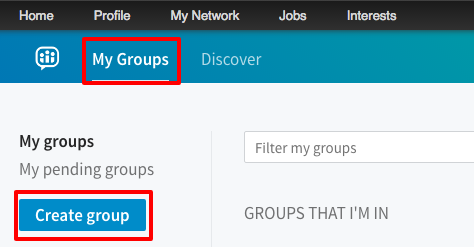 LinkedIn Groups 2