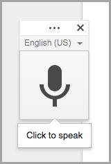 widget for voice recording
