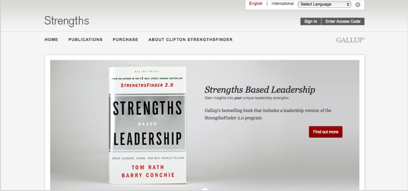 Strengths finder for motivating employees to be blog contributors